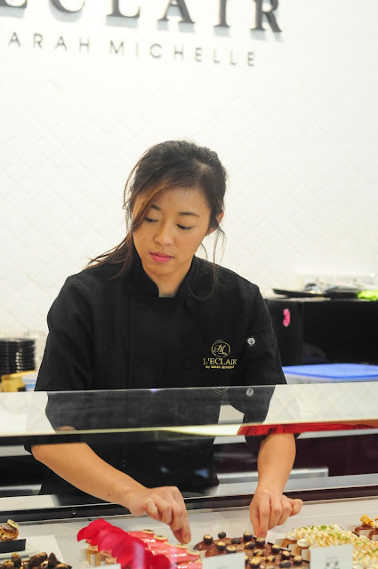Singapore eclaire Pastry Chef Sarah Tan