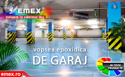 Garaj sau service auto - vopsire epoxidica