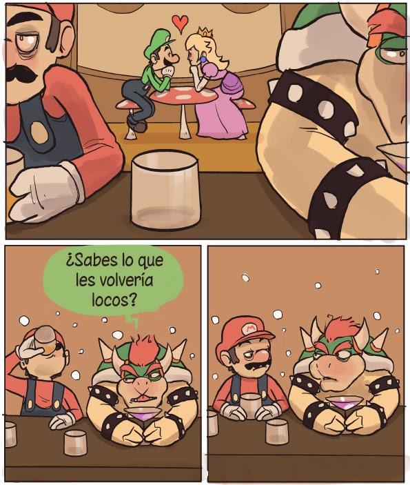 Los celos de Mario y Bowser - parte 2