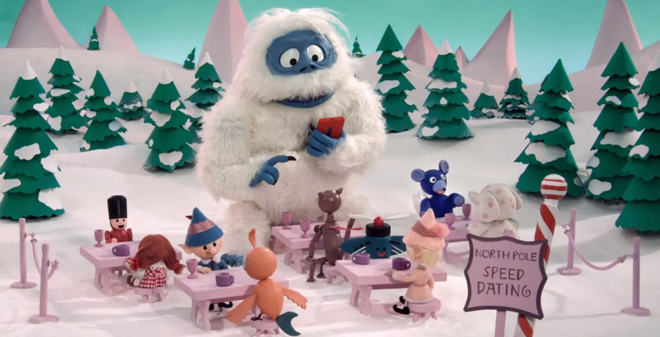 Rudolph the Red-Nosed Reindeer's Bumble the Abominable Snowman Is ...