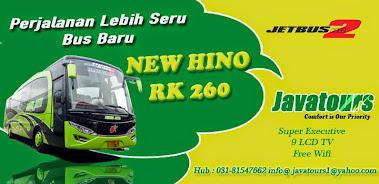 Bus Javatours Pariwisata surabaya Jetbus HD 2