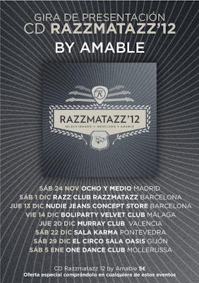 Dj Amable RAZZMATAZZ'12 GIRA
