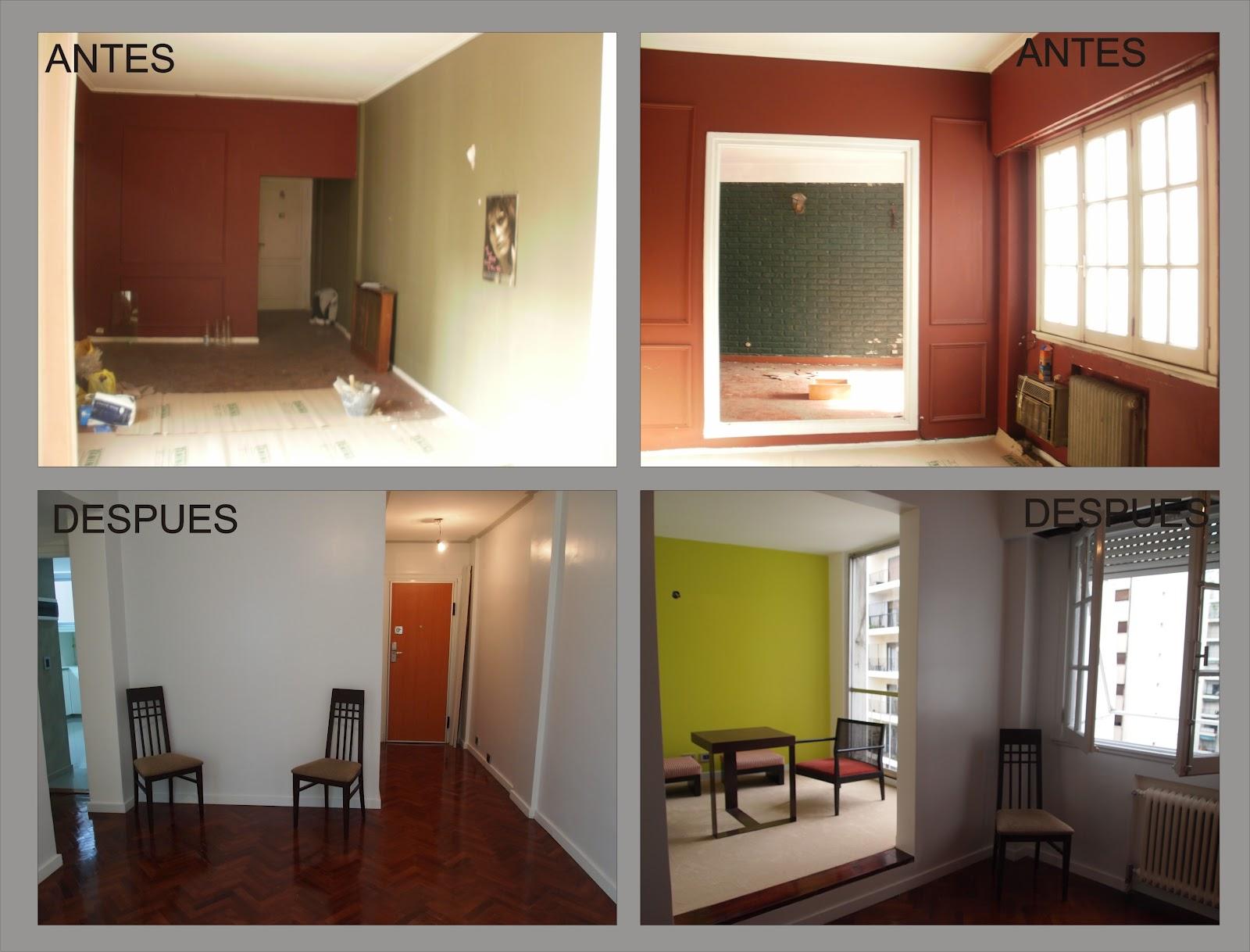 Arquitectura a tu medida remodelacion de un departamento for Remodelacion de casas interiores