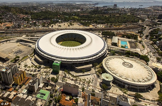 FIFA World cup 2014 venue of brazil's