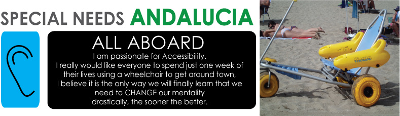 "<b>Special Needs Andalucia <br> ""ALL ABOARD""</b>"
