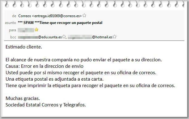 Leyendas urbanas hoax fraudes correos tiene que for Oficina de correo postal
