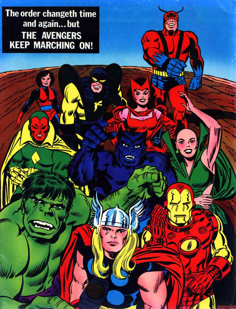 Marvel Treasury Edition  7   Avengers - Jack Kirby coverJack Kirby Cover