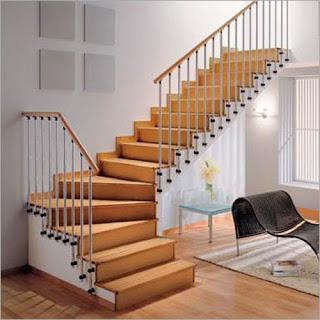 Contoh Desain Tangga Rumah Minimalis 2015