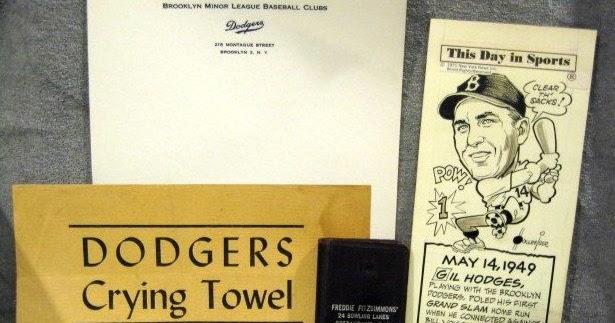dodgers blue heaven itpc  dodgers crying towel  hodges editorial cartoon