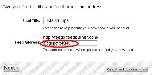 Daftar RSS Feedburner Dan Berlangganan Email Untuk Blog 3