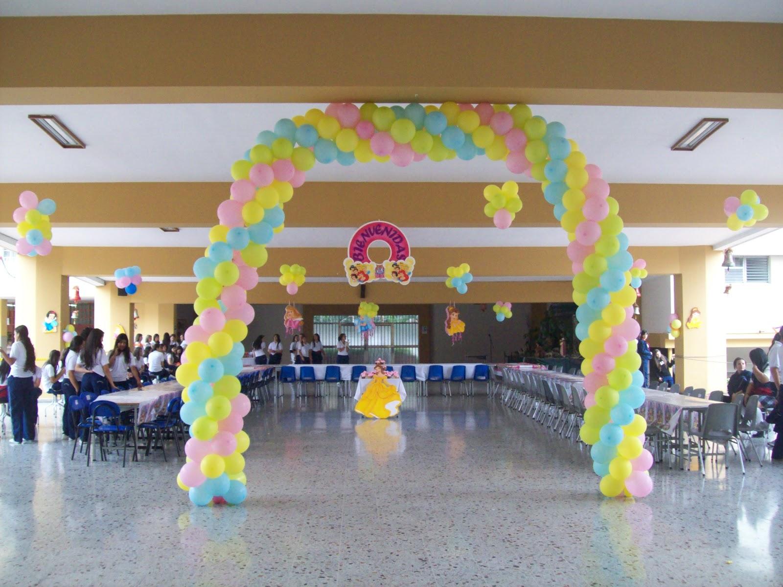 Arcos con globos fiestas infantiles fiestas infantiles y for Globos decoracion fiestas