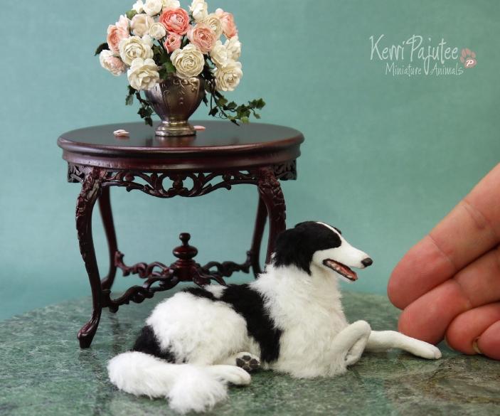 21-Borzoi-Dog-Kerri-Pajutee-Miniature-Sculpture-that-look-Real-www-designstack-co