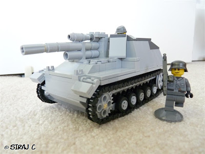 Lego - Gw III/IV Sf1 fur 15cm Haubitze Hummel Tank