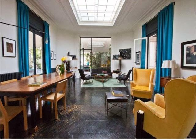 wohnzimmer ideen petrol:Wandfarbe petrol wohnzimmer : Wohnen in Petrol Bad, Wohnzimmer und