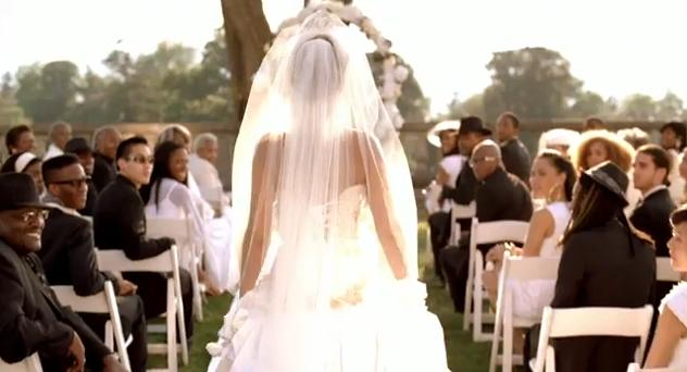 Take A Look At Beyonce As Bride In The Video Below Are We Only Ones Disappointed That Groom Was Not Jay Z It Would Have Made Much More Real
