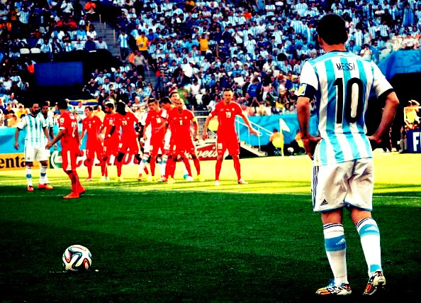 Messi at the World Cup