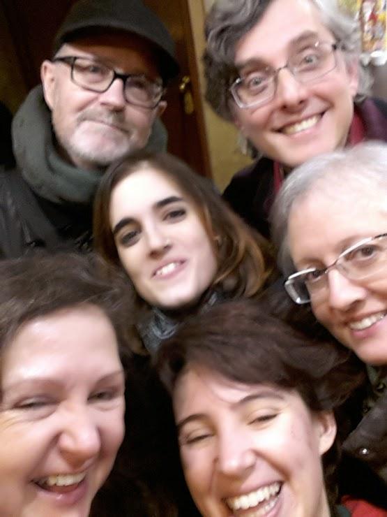 Jaime D. Parra, Carles Molins, Iris Parra, Carme Jounou, Carmen Borja i Lena Torre