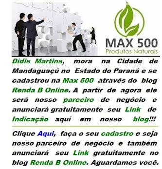 LINK DE INDICAÇÃO DO DIDIS MARTINS