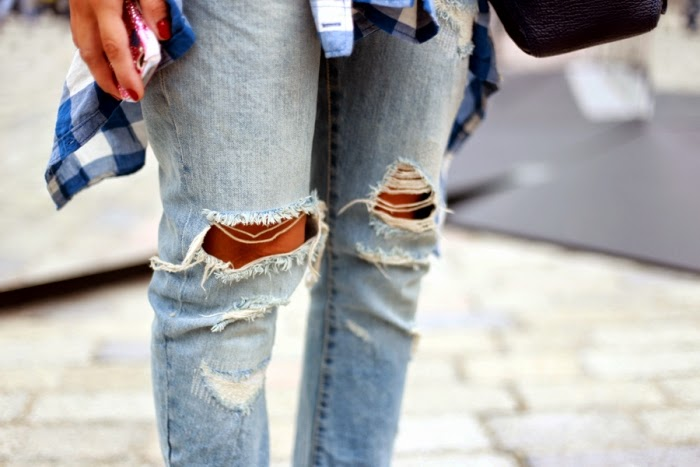 Extrêmement Ripped jeans, i jeans strappati alle ginocchia: vi spiego come si  MC15