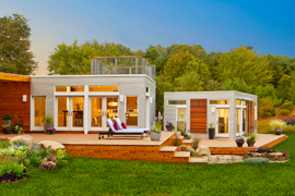 Small Scale Homes Energy Efficient Folding Homes By Blu Homes