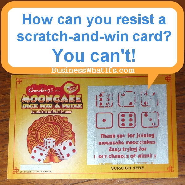 What If You Tried A Scratch-and-Win Promo Campaign ...