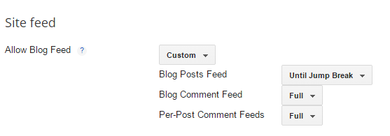 how to add rss feed to blogger