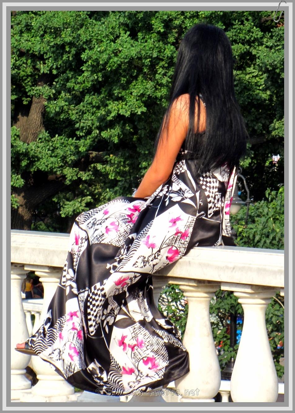 Long Flowery Summer Dress