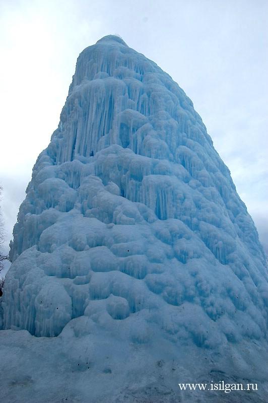 """Ледяной фонтан 2011. Национальный парк """"Зюраткуль"""". Челябинская область"""