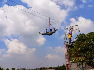 Flying Fox Di Lembang Bandung