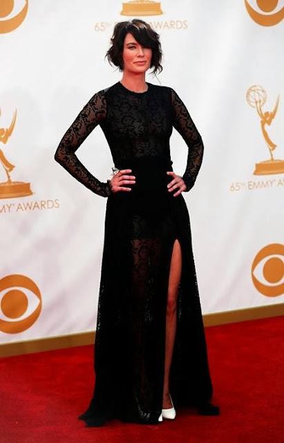 Lena Headey Cersei alfombra roja emmys - Juego de Tronos en los siete reinos
