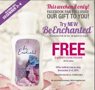 Free Be Enchanted Lotion