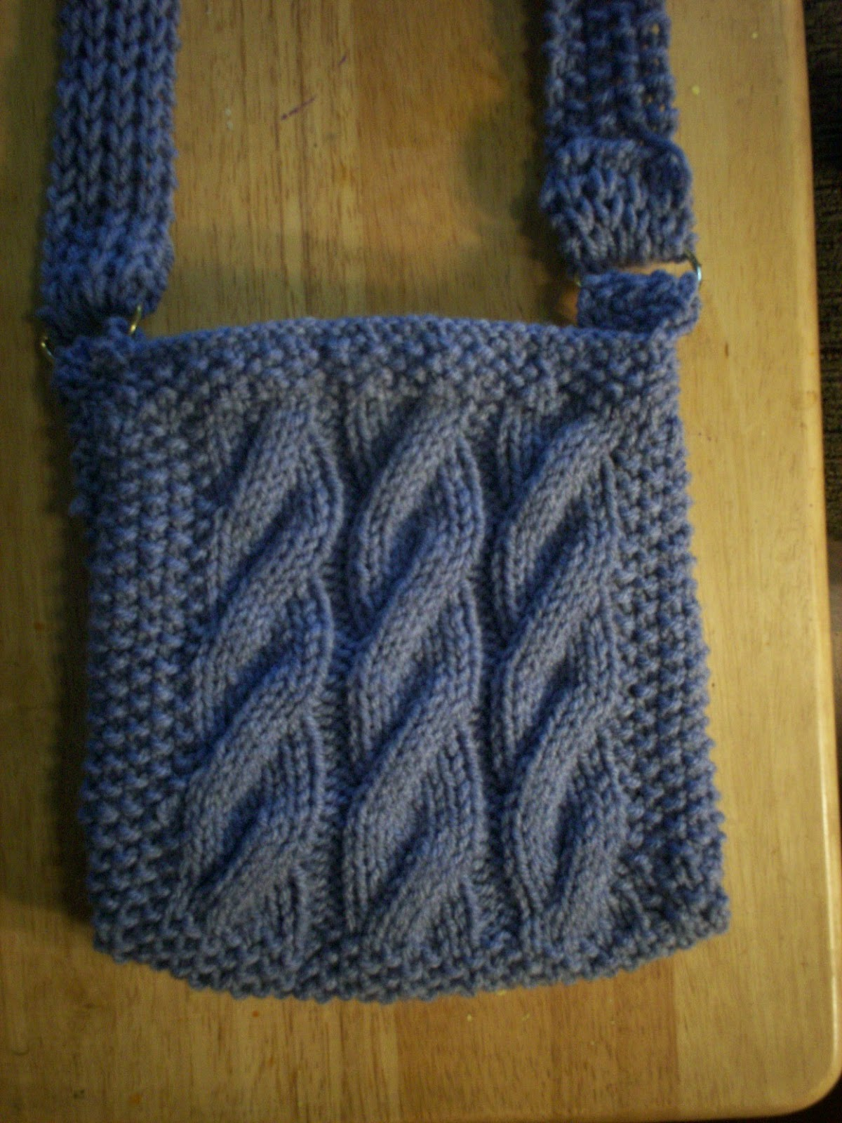 Purse Knitting Patterns For Beginners : Knitting Patterns for the beginner or the advanced knitter: Heathers Cab...