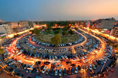 Liberty Market ,Car Parking, Lahore, Parking, Car, Economy, Business, Shopping,