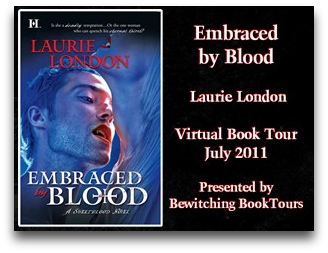 Embraced by Blood Virtual Book Tour: Review & Giveaway