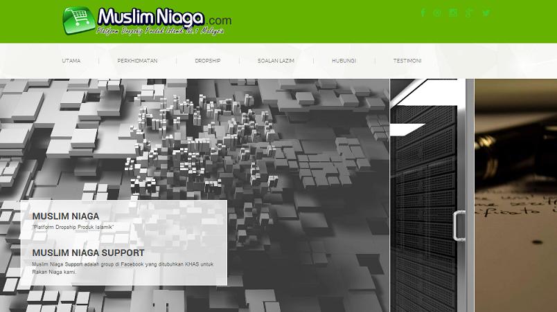 Review MUSLIM NIAGA Dropship