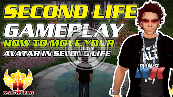 Second Life Gameplay ★ How To Move Your Avatar In Second Life