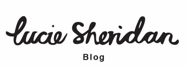 lucie sheridan blog spot
