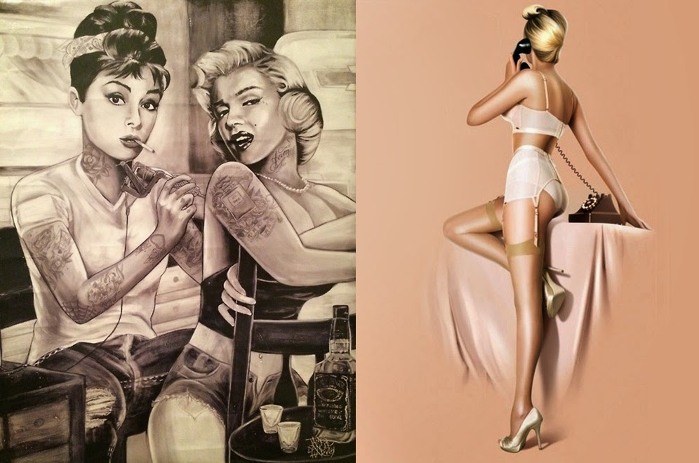 Pop Culture And Fashion Magic Pin Up Girls And Pin Up