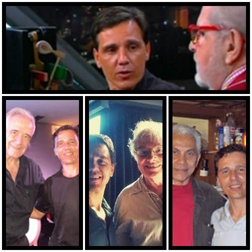 Maestro João Carlos Martins e Marcelo Tienes