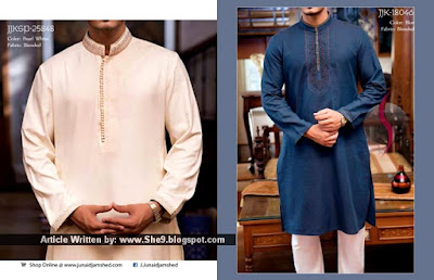 Junaid Jamshed Men Kurta Salwar for Eid 2015