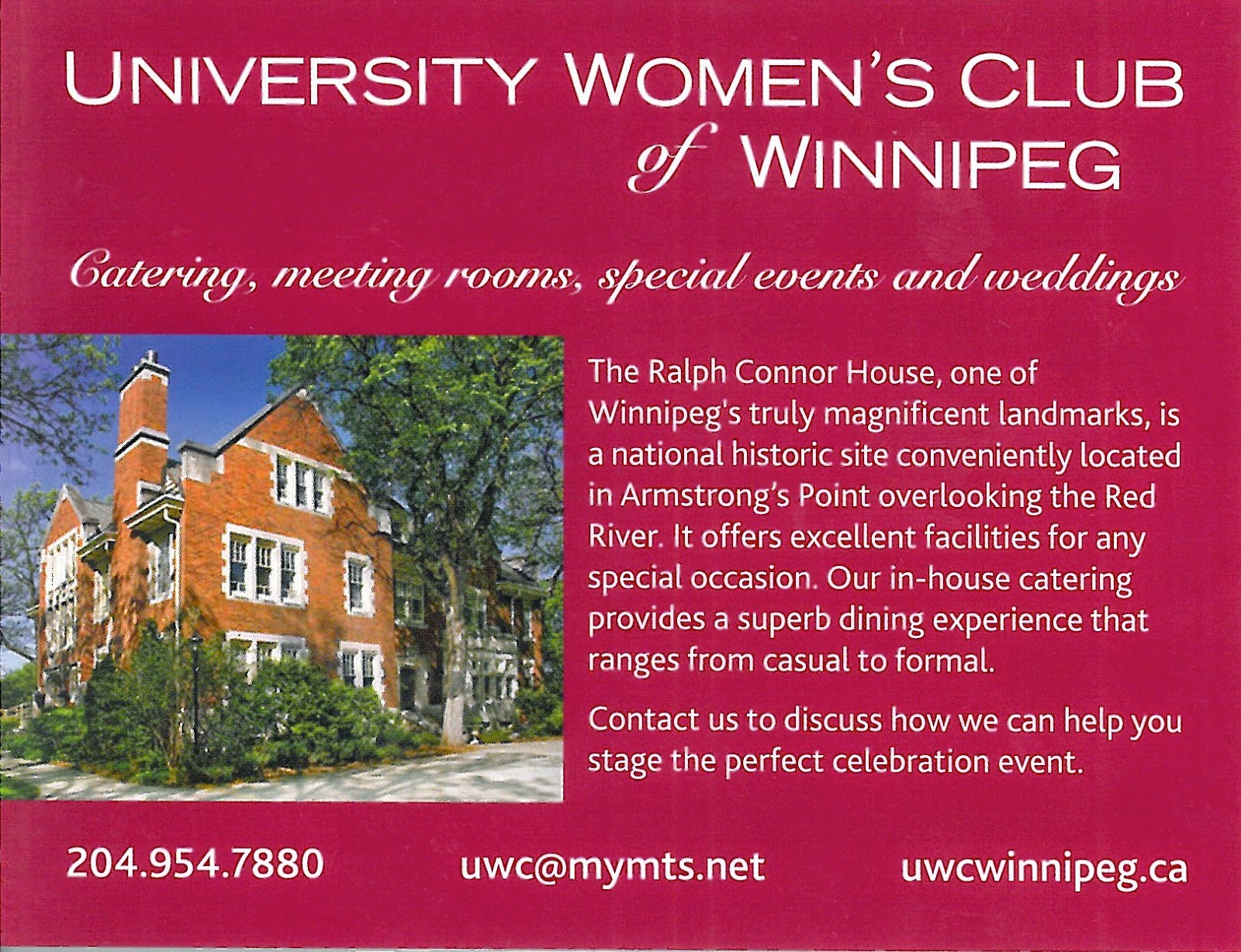 University Women's Club of Winnipeg