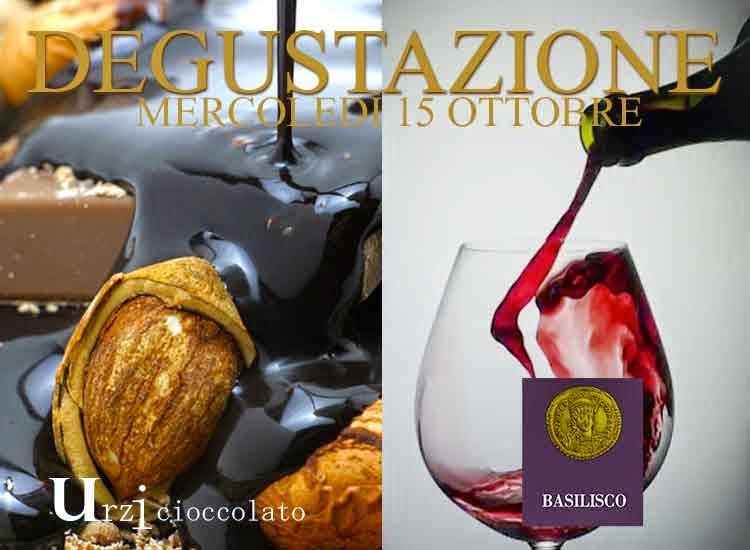 Mercoledì 15 ottobre, nel loft Lorenzo Vinci a Milano Degustazione Open Wine con ShowCooking Basilisco e Urzi Cioccolato