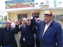 """Danilo y Luis """"El Gallo"""" acuerdan ir unidos a las elecciones del 20 de mayo"""