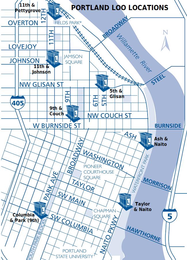 Bathroom Stalls Portland Oregon the aquarian agrarian: resource map for portland, oregon