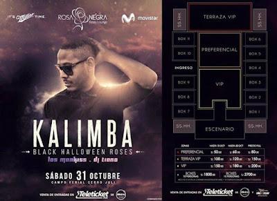 Kalimba en Arequipa entradas