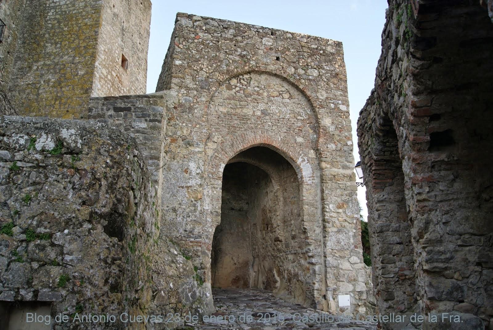 Castillo de Castellar de la Fra.