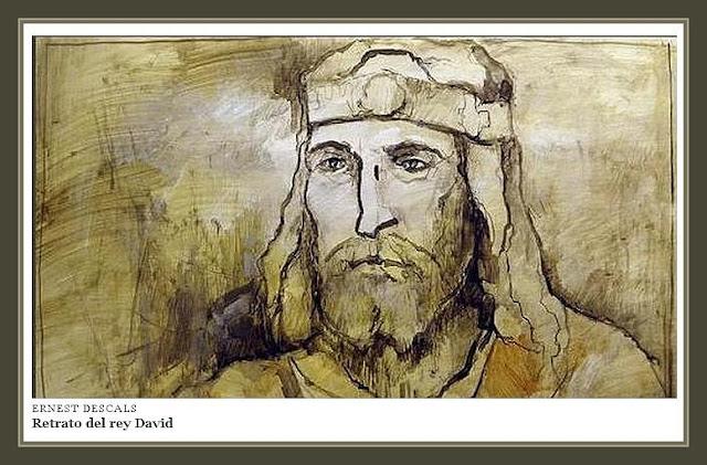 REY-DAVID-RETRATOS-ISRAEL-PINTURA-BIBLIA-PINTOR-ERNEST DESCALS-
