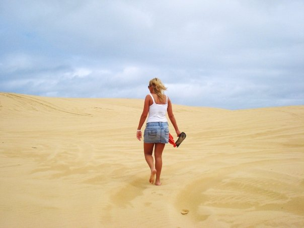 Blogger Beach