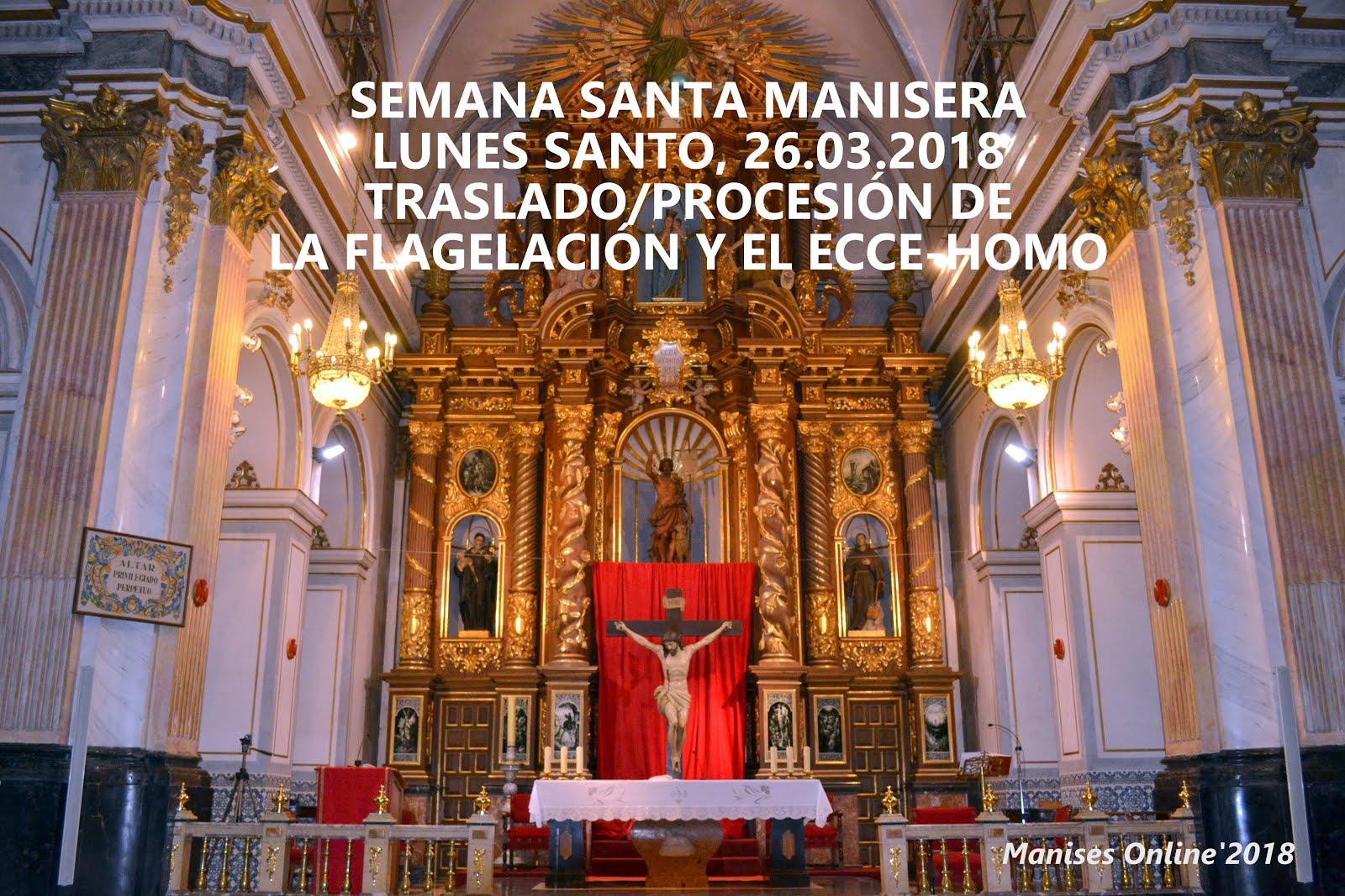 26.03.18 SEMANA SANTA MANISERA 2018: LUNES SANTO