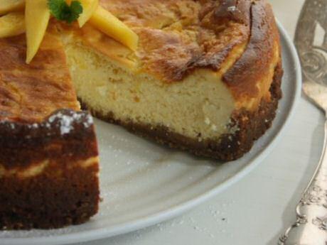 cheesecake met speculaasbodem